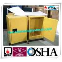 China Flammable Storage Containers , Chemical Storage Cabinets For Laboratory wholesale