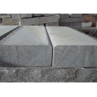 China Granite stone block paving grey kerbs curbstone flamed sawn cut wholesale