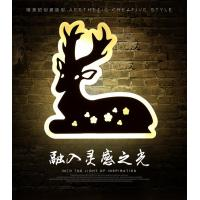 China Deer Acrylic LED wall lights /indoor led wall lighitng for pube decoration wholesale