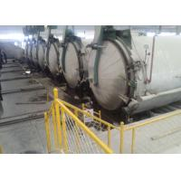 China Φ2.5m Custom High Steam Pressure AAC Autoclave For AAC Block Making Plant wholesale
