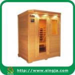 China Luxury Hemlock Infrared Sauna Room(ISR-08) wholesale
