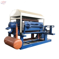China 40m*15m*6m 800-1000pcs/H Paper Egg Tray Making Machine on sale
