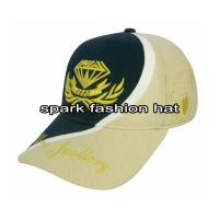 China Patchwork hat with high quality embroidery logos wholesale