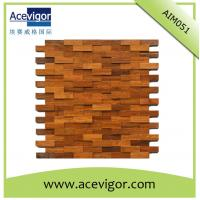 China Mosaic wood wall tiles for indoor decoration wholesale