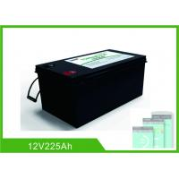 China Bluetooth 225Ah Lithium 12V Deep Cycle Battery LiFePO4 Battery Management System wholesale
