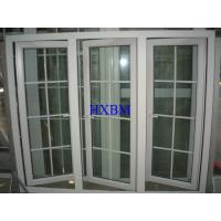 China Sound Insulation UPVC Windows And Doors With 19mm Double Hollow Clear Glazing wholesale