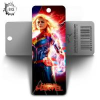 China Custom Lenticular Promotional 3d Holographic Bookmarks 0.6mm PET+157g Coated Paper wholesale
