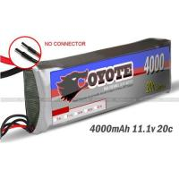 China RC li-po battery for helicopter.RC boat.RC Car 11.1V 4000mAh 20C wholesale