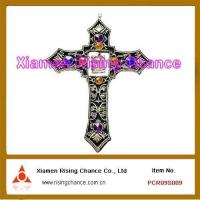China Pewter Christian Cross on sale