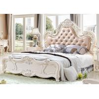 China Luxury Classic European Set Antique King Size Bed on sale