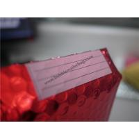 Odorless Red Metallic Bubble Envelopes  , 245x330 #A4 Bubble Wrap Envelopes for sale