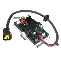 China LCD Switch Remote 12V Control Board For 1 - 8KW Car Parking Heater wholesale