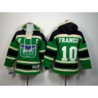 China cheap wholesale NHL hartford whalers 10 Francis green Hoodies Jersey wholesale