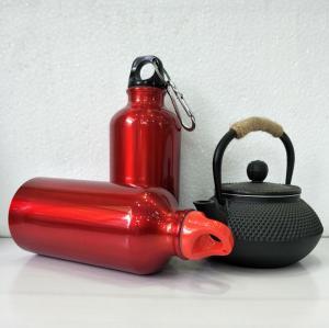 China Single wall BPA free sample 750ml /1 L big metal water bottle sports aluminium bottle wholesale