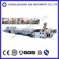 Quality Plastic Large Diameter Pe Hdpe Pipe Extrusion Line For Water Supply for sale