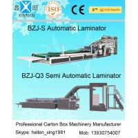 China High Precision Automatic Lamination Machine 12kw For Paperboard , CE ISO Standard wholesale