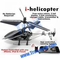 China NEW 3CH Gyro Metal RC i-Helicopter Motion Controlled by iPhone/iPad/iTouch(777-170) wholesale