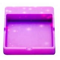 China Non - toxic Smellless Heat Resistant Silicone Accessories Rubber Ashtray wholesale