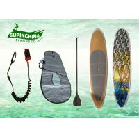China Fiberglass stand up paddle board surfboards for beginners , 14 feet wholesale
