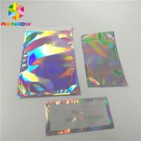 China Self Adhesive Hologram Envelop Bags 8x12 Inch For Phone Case / Clothes Packing wholesale