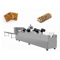 China Semi - Automatic Sesame Candy Cutting Machine Controlled By Two Inverters wholesale