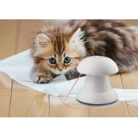 China Happy White Cat Laser Toy Light 18 X 18cm Size With 4 Different Speed Modes wholesale