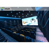 China Huge Funny 5D Theater System Outside Cabin Hydraulic Dynamic System wholesale