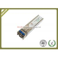 China 1.25Gbps SFP Optical Transceiver Fiber Optic Module With Dual Fiber LC Connector wholesale