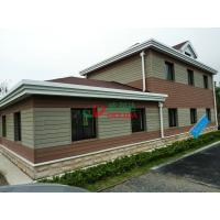 China Customized WPC Exterior Wall Cladding Weather Resistant Fire Resistance No Cracking wholesale