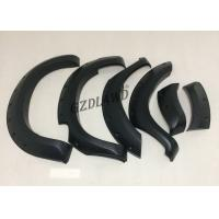 China Wide Extend Black Fender Flares For Toyota Hilux Vigo Champ MK6 05 11 Car Accessories wholesale