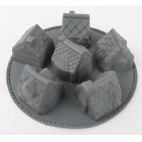 Buy cheap House Look High Temp Silicone Mold 6 Cavity Small Reusable Washable from wholesalers