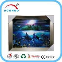 Quality Offset Printing Customized 3d lenticular posters PET Lenticular effect for sale