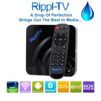China Rippl-TV Newest Products 2015 Amlogic S802 Quad Core XBMC Android OTT TV Box Streaming Media Player wholesale