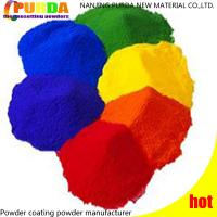 Buy cheap Smooth Surface Polyester Powder Coating , Bonding Silver Powder Coat For Metal from wholesalers