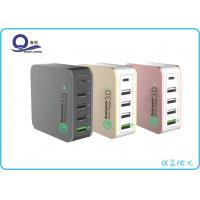 China 5 Ports 40W Multiple USB Charger , Quacomm Quick Charger with Type - C USB Output on sale