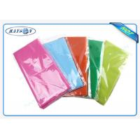 China 50 Gram Thickness Individul Packing TNT Non Woven Tablecloth With Multi Color For Restaurant wholesale