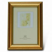 China Plastic Photo Frame, Available in Various Sizes and Inserted Papers wholesale