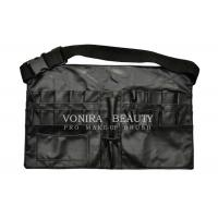 China New style Faux Leather Makeup Brush Apron Tool Bag with Belt wholesale