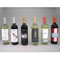 China Printed Red Wime Label / Wine Bottle Shrink Sleeve Labels Self Adhesive wholesale