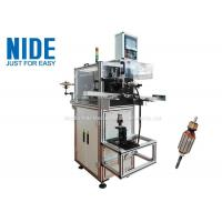 China Slot Induction Motor Winding Machine For Motor Rotor Outside Diameter 20 - 55mm on sale