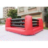 China Kids And Adults Inflatable Sports Games Boxing Ring 5 X 5 X 1.5 M Height wholesale