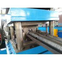 China High Precision Guard Rail Roll Forming Machine , PLC Guard Rail Machine High Speed wholesale