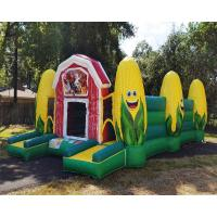 China Hot inflatable corn maze fall event games obstacle course jeux gonflable on sale