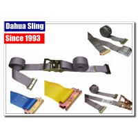 """China 2"""" Custom E Track Tie Down Straps , 4500 Lb Cam Lock Straps For Tying Down wholesale"""