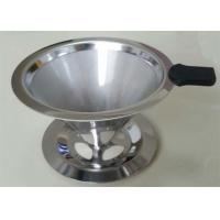 China White Ultra Fine Stainless Steel Filter Easy Clean With High Eccentricity Rate wholesale