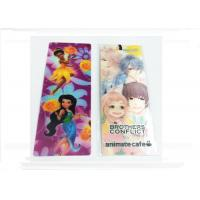 China Pantone Bookmarks 3D Lenticular Screen Printing Japanese Designs wholesale