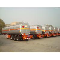 China new air suspension truck fuel tanks semi trailer for sale with tool box on sale
