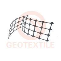 China High Strength PP Biaxial Geogrid Soil Reinforcement For Railway Construction wholesale