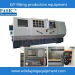China PASIC saddle wire laying machine CNC electorfusion fittings wire laying machine for saddle wholesale