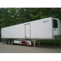 China 2 Or 3 Axle Refrigerated Cargo Trailer 35 Tons Capacity Customized Size wholesale